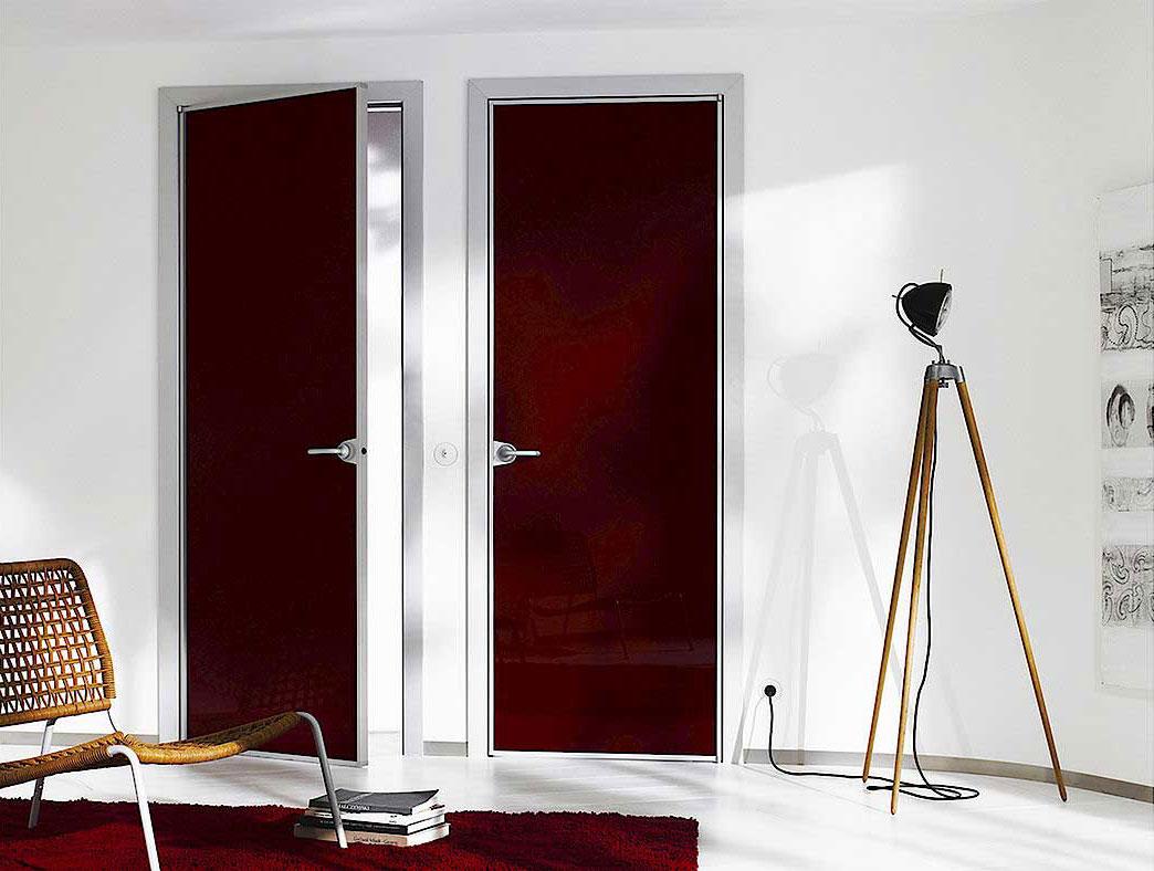 Алюминиевые двери Swing